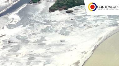 Las dramáticas imágenes del río Cauca tras cierre de las compuertas de Hidroituango