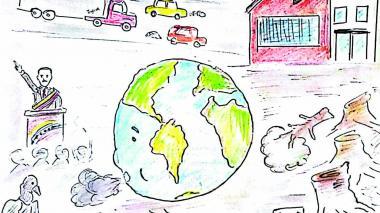 Caricatura Wasapea   Cuidemos el planeta
