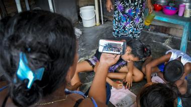 En Villa Caracas quieren volver a Venezuela