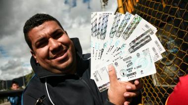 Así avanza la venta de entradas a la final Junior-Pasto en Bogotá