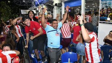 Así celebró Barranquilla la novena estrella de Junior