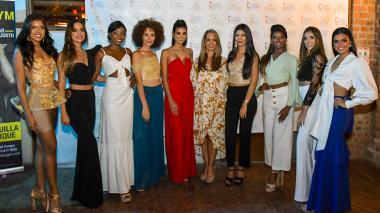 Presentación de candidatas a Señorita Región Caribe