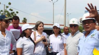Alcalde Pereira inspecciona escenarios para Juegos 2019