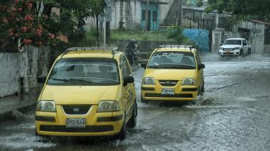 Estas son las imágenes que deja la lluvia de este miércoles en el sur de Barranquilla y Soledad