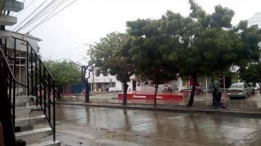 En imágenes   Barranquilla se mantiene bajo llovizna en la mañana de este jueves