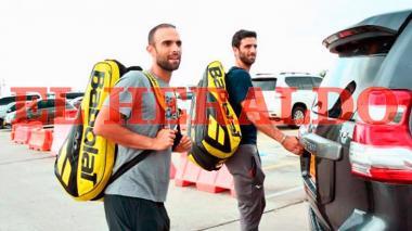 La llegada de Robert Farah y Juan Sebastián Cabal a Barranquilla