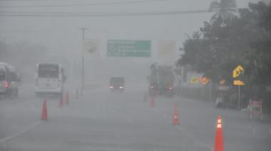 Mañana lluviosa en Barranquilla y Atlántico