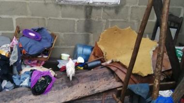 Arroyo 'El sapo' causa inundación en viviendas de Villa Esther, Malambo