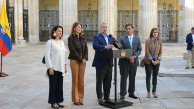 El presidente Iván Duque instala oficialmente elecciones en el país