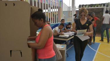 Así avanza la jornada electoral en el Atlántico
