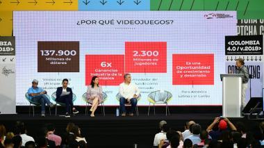Así se desarrolló el Encuentro Digital y de Economía Naranja 'Colombia 4.0'