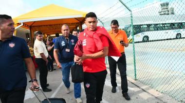 Así fue la llegada de Junior a Barranquilla luego del encuentro con Nacional