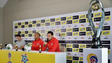 Rueda de prensa previa al juego final entre América y Junior