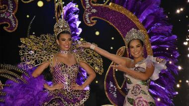 Estos son algunos de los vestidos de coronación que se expondrán en el Museo del Carnaval