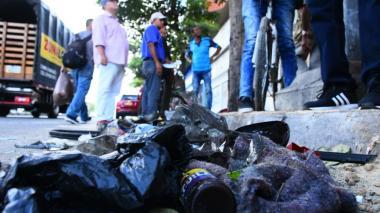 Imágenes que dejó el fatal accidente en la calle Murillo