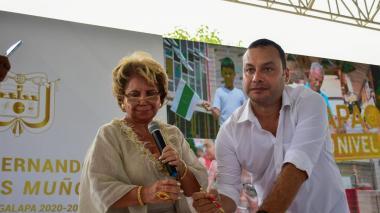Posesión del nuevo alcalde de Galapa, José Vargas Muñoz