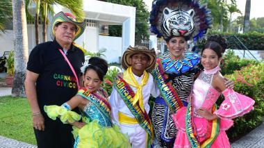 Coronación de los Reyes Cívicos del Carnaval