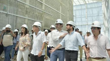 Delegación del BID hace recorrido de inspección en Pabellón del Río