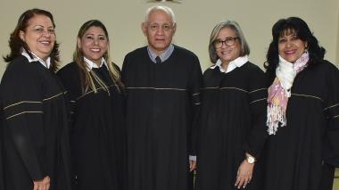Posesión de conjueces del Tribunal Superior de Barranquilla