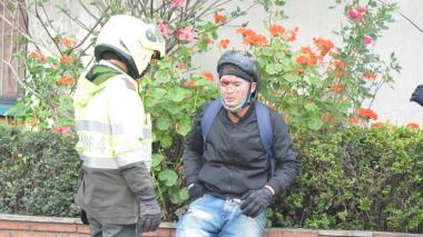 Protestas en Bogotá dejan varios heridos y detenidos