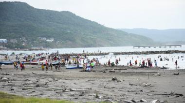 En imágenes | Asistencia masiva en las playas de Puerto Colombia