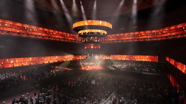 Así serán las instalaciones del Arena del Río en Barranquilla