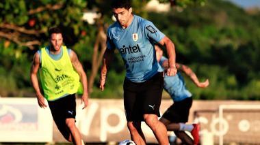Con 17 jugadores, Uruguay completó segundo día en suelo barranquillero