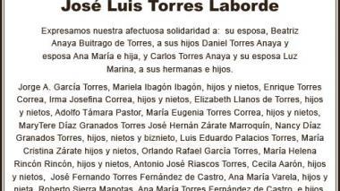 José Luis Torres Laborde