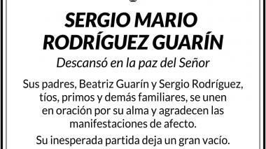 Sergio Mario Rodríguez Guarín