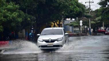 LLovizna en Barranquilla 10 de abril
