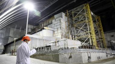 Un tour por el nuevo centro de control en la planta de Chernóbil