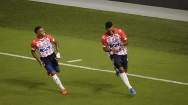 Fotos del partido entre Junior y Bolívar