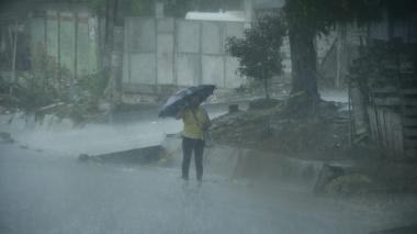 Llueve en Barranquilla y su área metropolitana