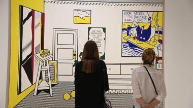 Exposición de arte americano de 1961 - 2001 se toma Florencia