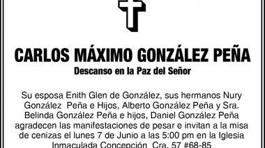 Carlos Máximo González Peña