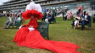 Los poderosos y particulares sombreros del Royal Ascot en Londres