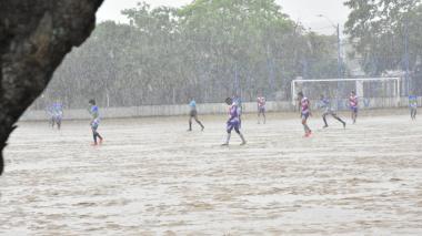 Fuertes lluvias se registraron este sábado en Barranquilla
