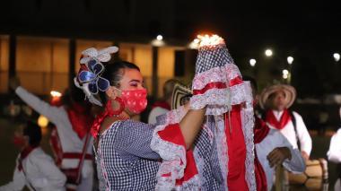 Rueda de Cumbia en honor a la Virgen del Carmen