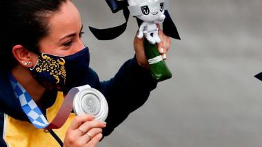 El BMX de Colombia, doblemente glorioso en Tokio 2020 con Pajón y Ramírez