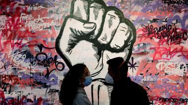 El grafiti, una representación de las experiencias colombianas en la protesta
