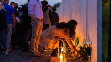 Conmemoración del vigésimo aniversario del ataque a las torres gemelas