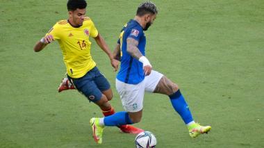 En imágenes: partido de Colombia vs. Brasil