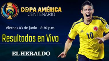 Calendario y resultados de la Copa América Centenario