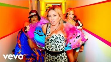 Madonna estrena 'B*tch I'm Madonna' con la ayuda de grandes artistas