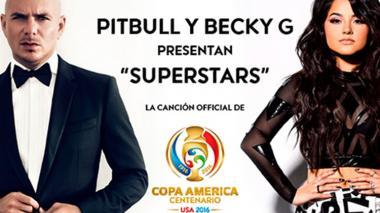 Escucha 'Superstar', la canción de Pitbull y Becky G para la Copa América Centenario