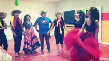 Colombianos celebran en el exterior el día de la independencia