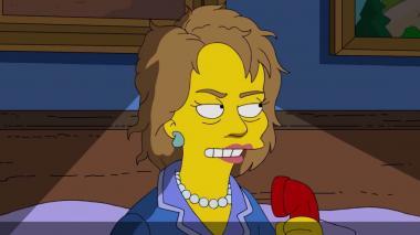 En video: Los Simpsons se burlan de Donald Trump y muestran su apoyo a Clinton