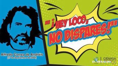 Escuche la canción que le hizo un cienaguero en homenaje a Alfredo Correa de Andréis