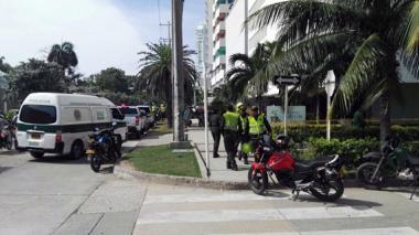 En video: Balacera entre Policía y delincuentes deja dos heridos en Bocagrande