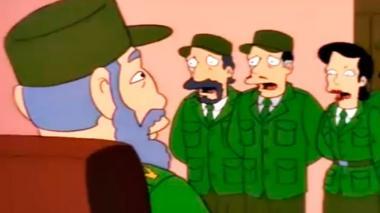 El capitulo de Los Simpsons en que Fidel se queda con 'el trillón' de dólares del sr. Burns